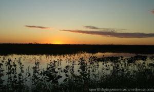 Sunset: Corriente River, Corrientes