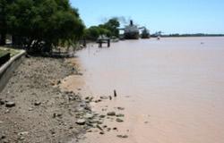 Rio Uruguay in Missiones