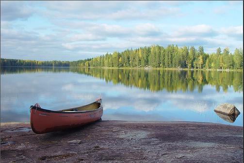 kuusijarvi canoe