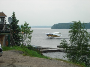 Take-off from Red Lake