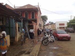 Downtown São Tomé